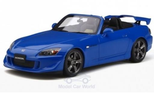 Honda S2000 1/18 Ottomobile Type S metallise bleue RHD 2007 miniature
