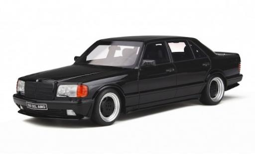 Mercedes 560 1/18 Ottomobile 6.0 SEL AMG (W126) metallise noire miniature