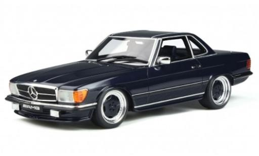Mercedes 560 1/18 Ottomobile AMG (R107) blue 1979 diecast model cars