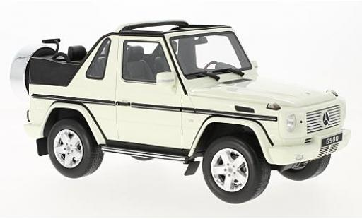 Mercedes Classe G 1/18 Ottomobile Cabriolet white diecast model cars