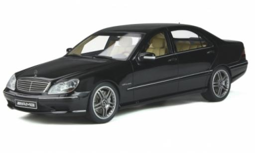 Mercedes Classe S 1/18 Ottomobile S 65 AMG (W220) metallise black 2004 diecast model cars