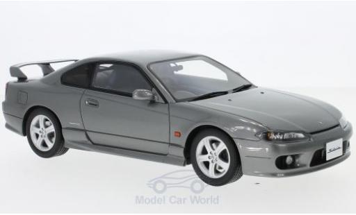 Nissan Silvia 1/18 Ottomobile Spec-R AERO (S15) metallise grise RHD 1999 miniature