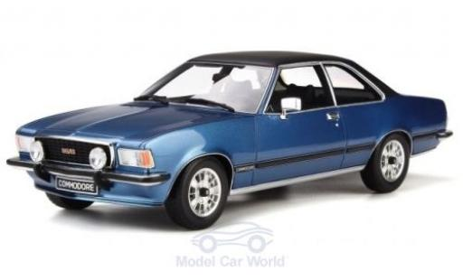 Opel Commodore 1/18 Ottomobile B GS/E metallise bleue/noire 1977 miniature