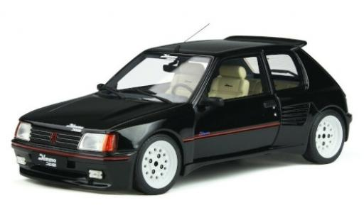 Peugeot 205 1/18 Ottomobile Dimma Design noire/Dekor 1989 miniature