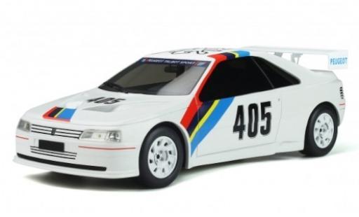 Peugeot 405 1/18 Ottomobile T16 Gr.5 white/Dekor No. Talbot Sport 1988 diecast model cars