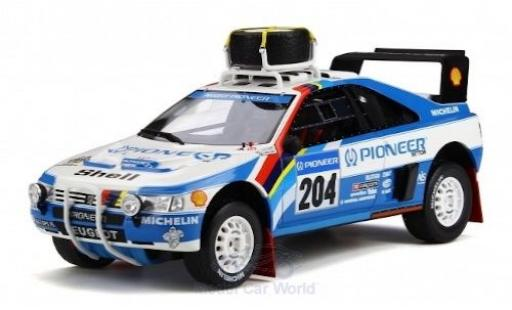 Peugeot 405 1/18 Ottomobile T16 Grand Raid No.204 Rallye Paris Dakar 1989 A.Vatanen/B.Berglund diecast model cars