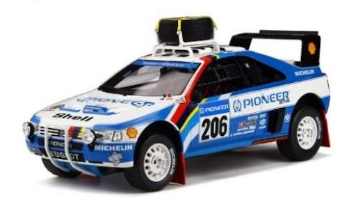 Peugeot 405 1/18 Ottomobile T16 Grand Raid No.206 Rallye Paris Dakar 1989 J.Ickx/C.Tarin miniature