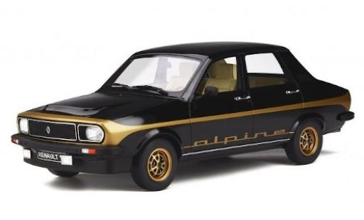 Renault 12 1/18 Ottomobile Alpine black 1978 diecast model cars