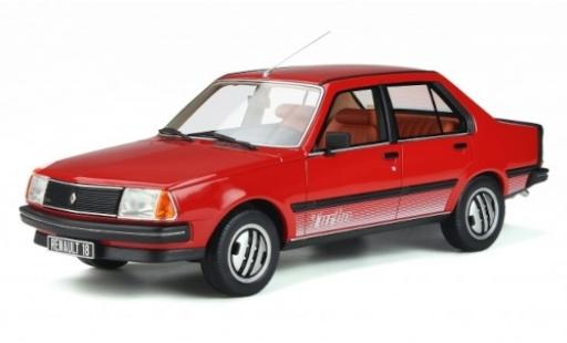 Renault 18 1/18 Ottomobile Turbo red 1981 diecast model cars
