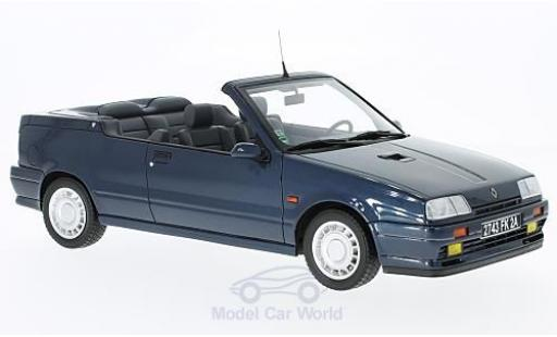 Renault 19 1/18 Ottomobile 16S Cabriolet metallic-bleue miniature