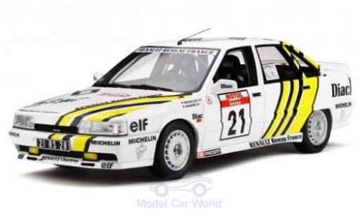 Renault 21 1/18 Ottomobile Turbo Gr.N No. Rallye WM Tour de Corse 1988 P.Bugalski/J-M.Andrie miniature