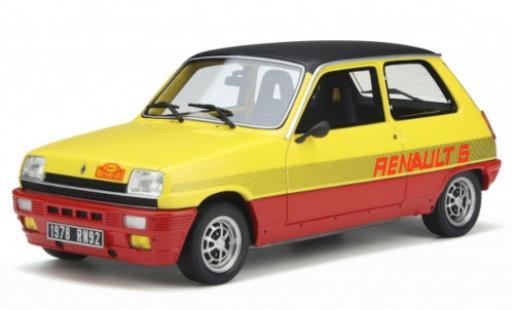 Renault 5 1/18 Ottomobile TS Monte Carlo jaune/rouge 1978 miniature