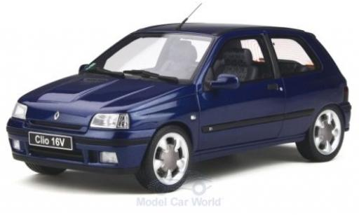 Renault Clio 1/18 Ottomobile 16V (Phase 2) metallic blue 1995 diecast