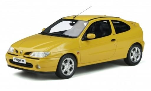 Renault Megane 1/18 Ottomobile Mk1 Coupe 2.0 16V yellow 1999 diecast model cars