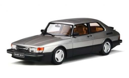 Saab 900 1/18 Ottomobile Turbo 16V Aero Mk1 grise 1984 miniature
