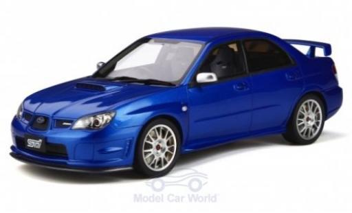 Subaru Impreza 1/18 Ottomobile STI (S204) metallise bleue RHD 2006 miniature