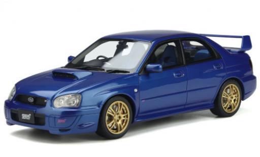 Subaru Impreza 1/18 Ottomobile WRX STI metallise bleue RHD 2003 miniature