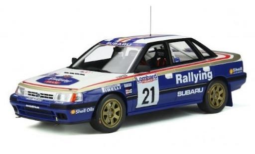 Subaru Legacy 1/18 Ottomobile RS Gr.A No.21 Rallye WM RAC Rallye 1991 C.McRae/D.Ringer miniature