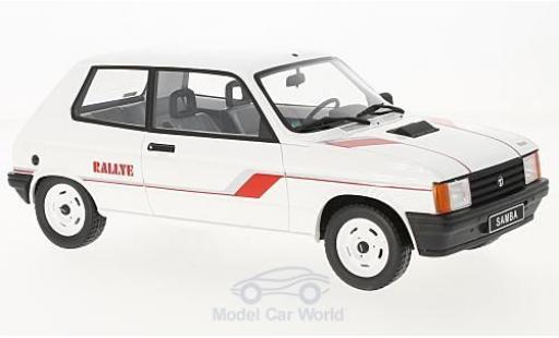 Talbot Samba 1/18 Ottomobile Rally blanche/Dekor 1983 miniature