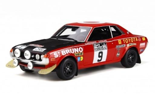 Toyota Celica 1/18 Ottomobile 1600 GT (TA22) No.9 Rallye WM RAC Rallye 1973 O.Andersson/G.Phillips diecast