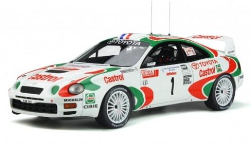 Toyota Celica 1/18 Ottomobile GT Four (ST205) No.1 Team Castrol Europe Castrol Tour de Corse 1995 D.Auriol/D.Giraudet diecast model cars