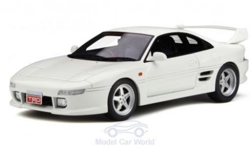 Toyota MR 1/18 Ottomobile 2 (SW20) TRD 2000GT blanche RHD miniature