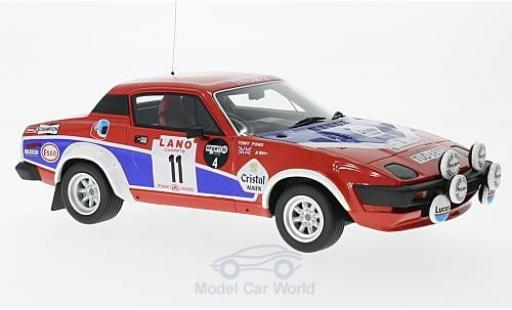 Triumph TR7 1/18 Ottomobile V8 Gruppe 4 No.11 24h Ypres 1980 T.Pond/F.Gallagher miniature