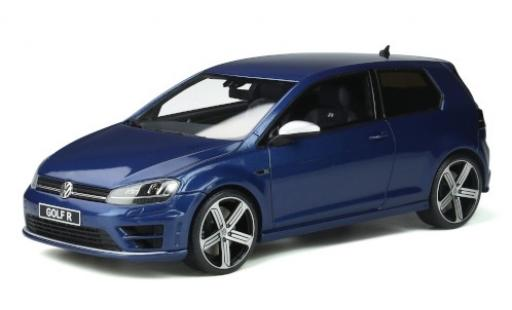 Volkswagen Golf 1/18 Ottomobile VII R metallise blue 2014 diecast model cars