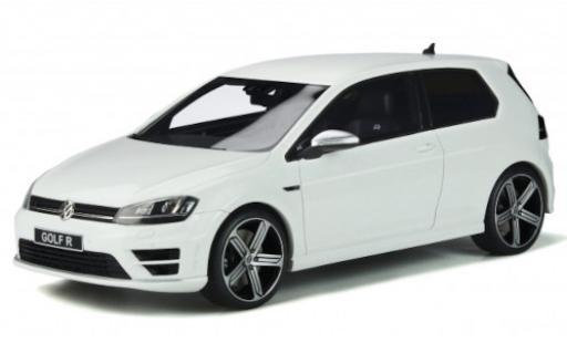 Volkswagen Golf 1/18 Ottomobile VII R white 2014 diecast model cars