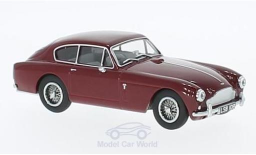 Aston Martin DB2 1/43 Oxford MkIII rouge RHD miniature