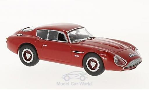 Aston Martin DB4 1/43 Oxford GT Zagato rouge RHD miniature