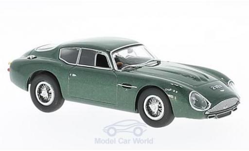 Aston Martin DB4 GT 1/43 Oxford GT Zagato mettalic grün RHD modellautos