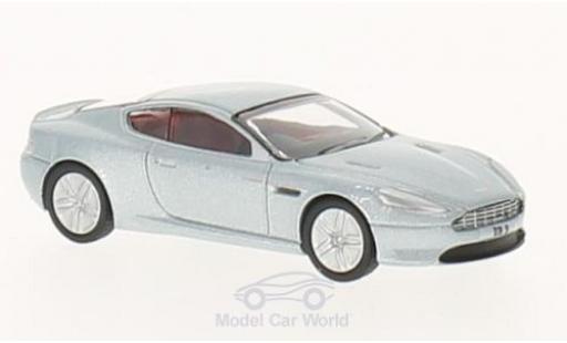Aston Martin DB9 1/76 Oxford grise RHD miniature