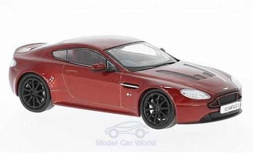 Aston Martin V12 Vantage 1/43 Oxford S metallise rouge RHD miniature