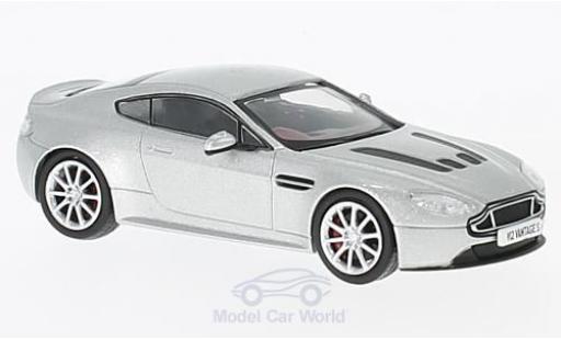 Aston Martin V12 Vantage 1/43 Oxford S grise RHD miniature