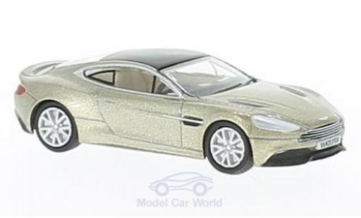 Aston Martin Vanquish 1/76 Oxford Coupe bronze RHD miniature