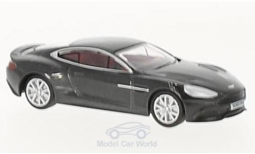 Aston Martin Vanquish 1/76 Oxford metallise grise miniature