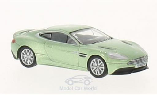 Aston Martin Vanquish 1/76 Oxford metallise verte RHD miniature