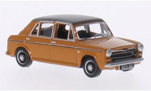 Austin 1300 1/76 Oxford marron/noire RHD miniature