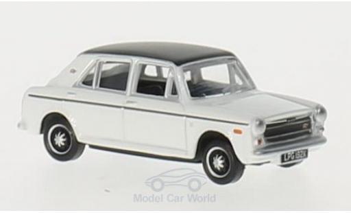 Austin 1300 1/76 Oxford blanche/noire RHD miniature