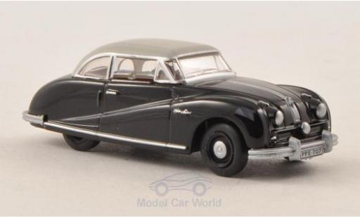 Austin Atlantic 1/76 Oxford Saloon noire/grise miniature