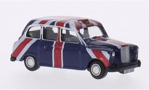 Austin FX4 1/76 Oxford RHD Taxi (GB) Union Jack diecast model cars