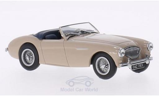 Austin Healey 100 1/43 Oxford BN1 beige RHD miniature