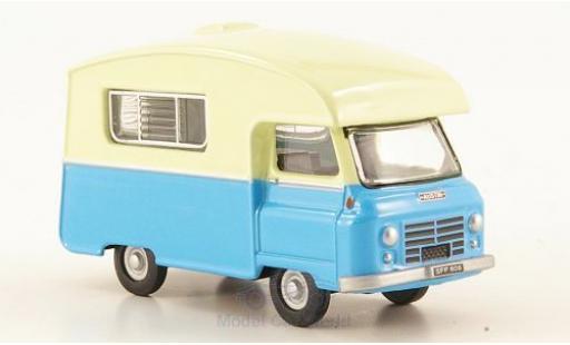 Austin J2 1/76 Oxford Paralanian bleue/beige miniature