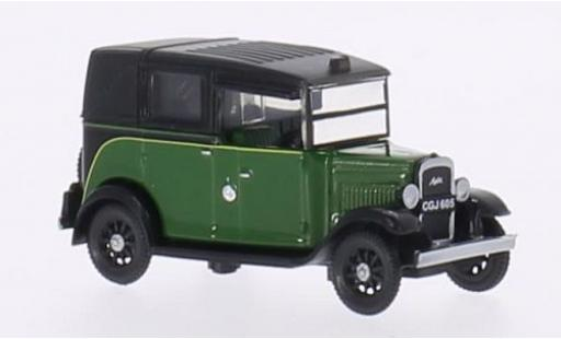 Austin Low Loader 1/76 Oxford verde/nero RHD Taxi modellino in miniatura