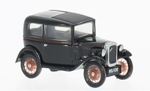 Austin Seven 1/76 Oxford RN Saloon black diecast model cars