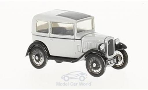 Austin Seven 1/76 Oxford Saloon grise miniature
