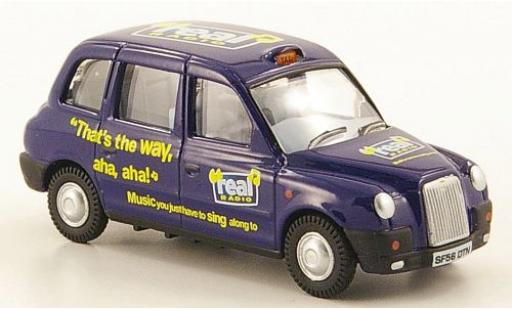 Austin TX4 1/76 Oxford RHD Real Radio Taxi miniature