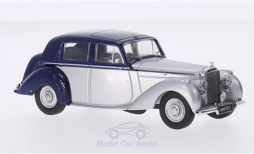 Bentley Mark 6 1/43 Oxford MK VI blau/silber RHD modellautos