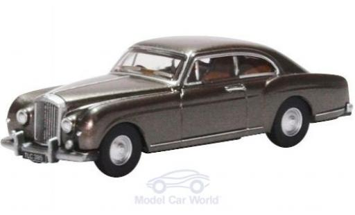 Bentley S1 1/76 Oxford Continental Fastback métallisé grise miniature